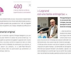 SARL Betoulle - Limoges - Borne de recharge électrique